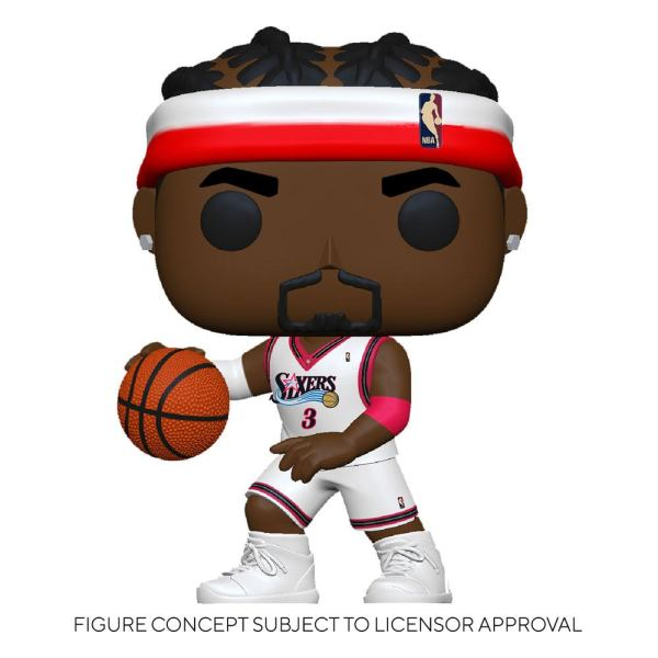 NBA Legends POP! Sports Vinyl Figure Allen Iverson (Sixers Home) 9 cm - fk55215