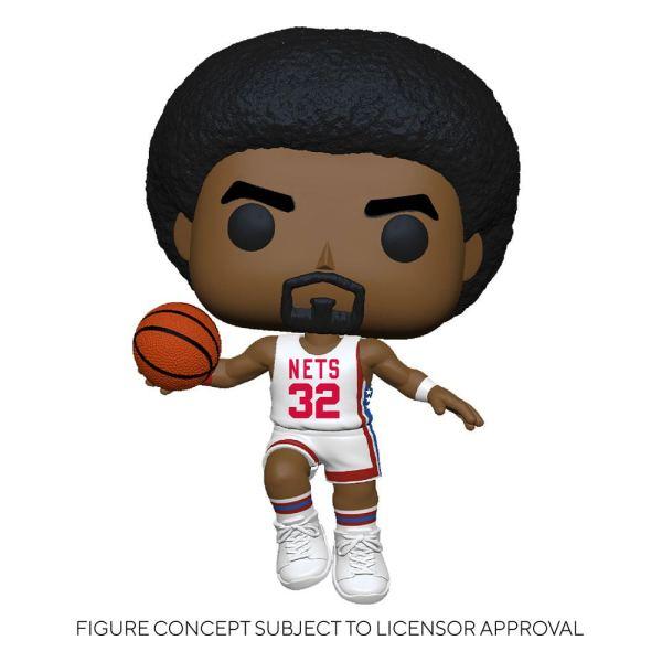 NBA Legends POP! Sports Vinyl Figure Julius Erving (Nets Home) 9 cm - fk55220