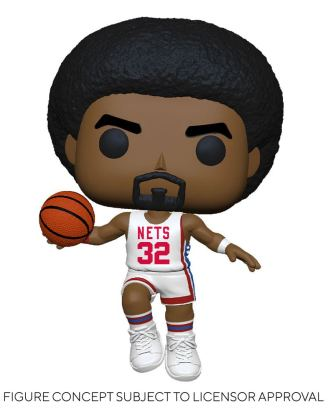 NBA Legends POP! Sports Vinyl Figure Julius Erving (Nets Home) 9 cm - fk55220