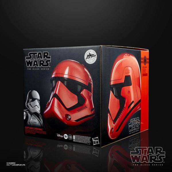 Star Wars Galaxy's Edge Black Series Electronic Helmet Captain Cardinal - hasf0013