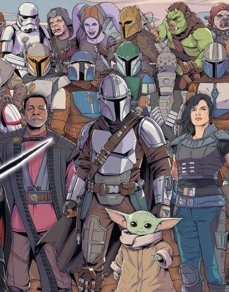 Star Wars The Mandalorian Challenge Jigsaw Puzzle - Baby Yoda (1000 pieces)