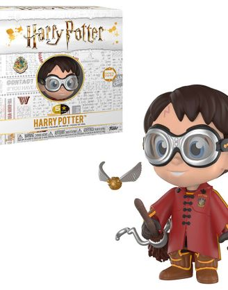 Harry Potter Funko Five Star Harry Potter with Quidditch Robes and Broom Exclusive Figura