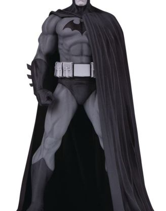 Batman Black and White Szobor - Batman (Version 3) by Jim Lee 18 cm