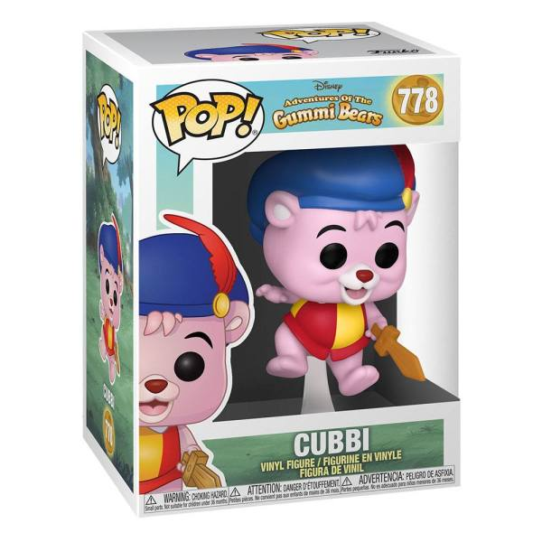 Adventures of Gummi Bears POP! Disney Vinyl Figure Cubbi 9 cm_fk48097-rev1