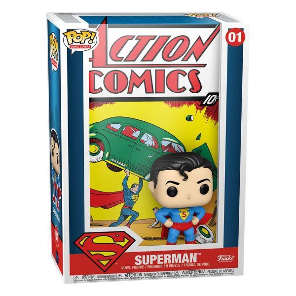 DC Comics POP! Comic Cover Vinyl Figure Superman Action Comic 9 cm_fk50468