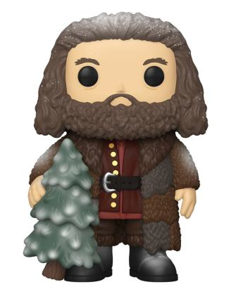 Harry Potter Super Sized Funko POP! Vinyl Figura - Holiday Rubeus Hagrid 15 cm