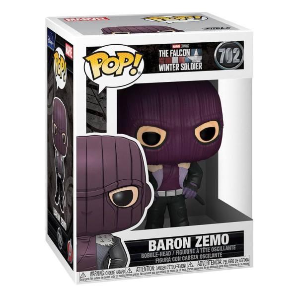 x_fk51626 The Falcon and the Winter Soldier Funko POP! Marvel Vinyl Figura - Baron Zemo 9 cm