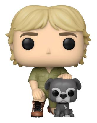 The Crocodile Hunter POP! TV Vinyl Figure Steve Irwin w/Sui 9 cm_fk54696