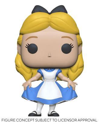 Alice in Wonderland POP! Disney Vinyl Figure Alice Curtsying 9 cm