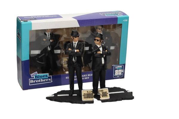 Blues Brothers Movie Icons Szobor - 2-Pack Jake & Elwood 18 cm