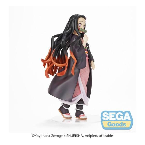 x_sega-sg94459 Demon Slayer: Kimetsu no Yaiba PVC Szobor - Nezuko Kamado (Sega Prize) 21 cm