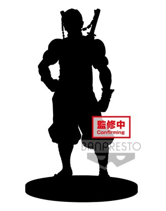 Demon Slayer Kimetsu no Yaiba PVC Statue Tengen Uzui Sepia Color Version 18 cm_banpbp17096p