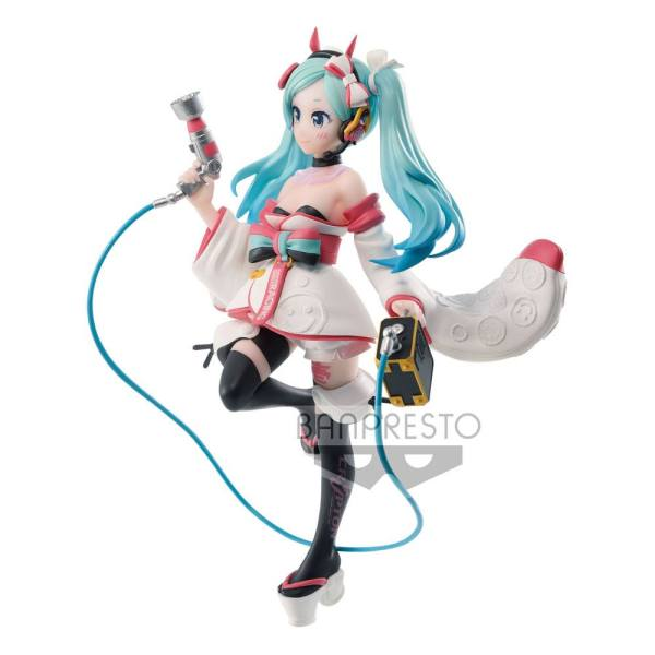 Racing Miku Espresto PVC Statue est-Dress & Pattern Hatsune Miku 2020 Kimono Ver. 18 cm_banpbp17613p