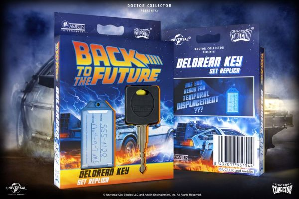Back To The Future Replica 1/1 DeLorean Key