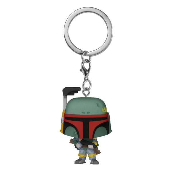 Star Wars Funko Pocket POP! Vinyl Keychains / kulcstartó - Boba Fett 4 cm
