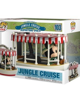 Jungle Cruise POP! Rides Vinyl Figure Skipper Mickey w/Boat 15 cm_fk55747
