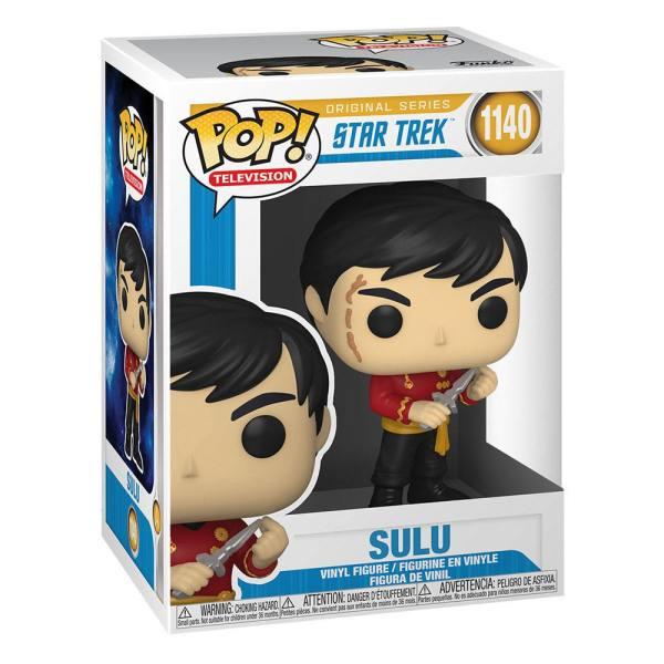 Star Trek: The Original Series POP! TV Vinyl Figure Sulu (Mirror Mirror Outfit) 9 cm_fk55809