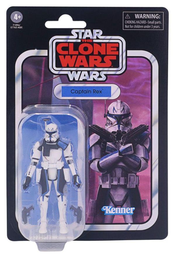 x_hase7763eu43_v Star Wars Vintage Collection 2021 Wave 1 Akciófigura - Captain Rex (The Clone Wars) 10 cm