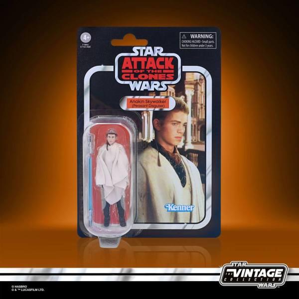Star Wars Vintage Collection 2021 Wave 2 Akciófigura - Anakin Skywalker (Peasant Disguise) 10 cm