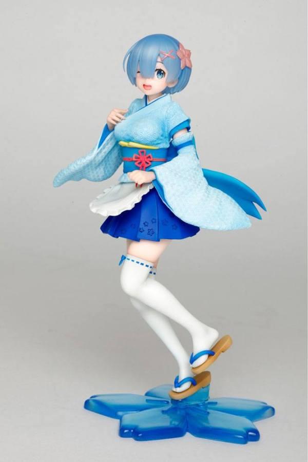 x_tapr451274000_g Re:Zero PVC Szobor - Rem Kimono Maid Ver. 23 cm