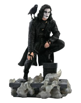 The Crow MThe Crow Movie Gallery PVC Statue Rooftop 25 cm_diamapr212361ovie Gallery PVC Statue Rooftop 25 cm