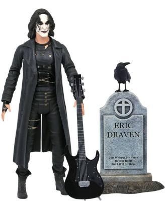 The Crow Deluxe Akciófigura Eric Draven 18 cm