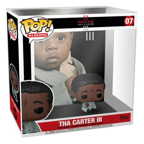 x_fk52932 Lil Wayne POP! Albums Vinyl Figura - Tha Carter III 9 cm