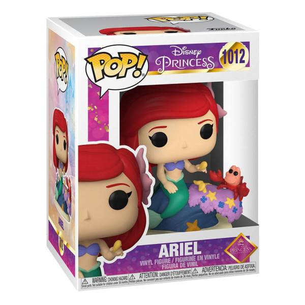 x_fk54742 Disney: Ultimate Princess Funko POP! Disney Vinyl Figura - Ariel 9 cm