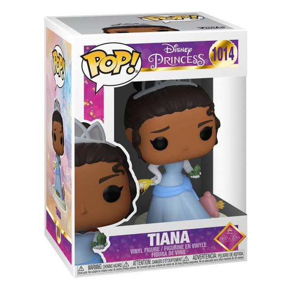 x_fk54744 Disney: Ultimate Princess Funko POP! Disney Vinyl Figura - Tiana 9 cm