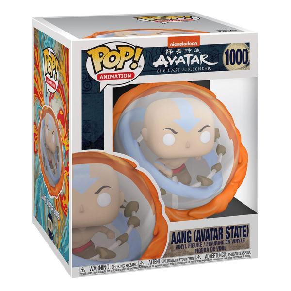 Avatar The Last Airbender Oversized POP! Marvel Vinyl Figure Aang All Elements 15 cm_fk56022