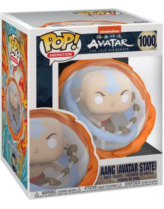 Avatar The Last Airbender Oversized POP! Marvel Vinyl Figure Aang All Elements 15 cm_fk56022