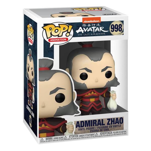 Avatar The Last Airbender POP! Animation Vinyl Figure Admiral Zhao 9 cm_fk56023