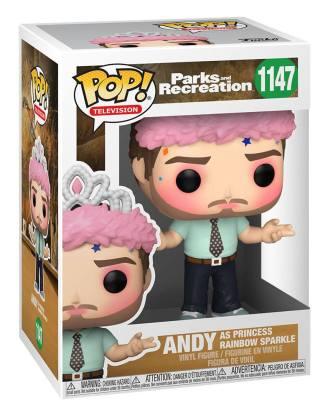 Parks and Recreation POP! TV Vinyl Figure Andy as Princess Rainbow Sparkle 9 cm_fk56166