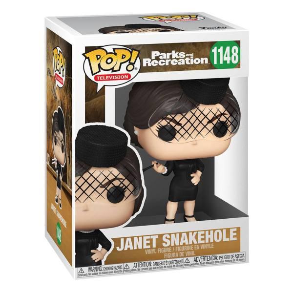 Parks and Recreation POP! TV Vinyl Figure Janet Snakehole 9 cm_fk56169