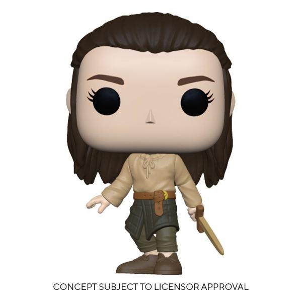 Game oGame of Thrones POP! TV Vinyl Figure Arya Training 9 cm_fk56793f Thrones POP! TV Vinyl Figure Arya Training 9 cm_fk56793