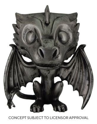 Game of Thrones POP! TV Vinyl Figure Drogon (Iron) 9 cm_fk56794