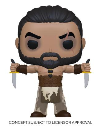 Game of Thrones POP! TV Vinyl Figure Khal Drogo w/Daggers 9 cmx_fk56795