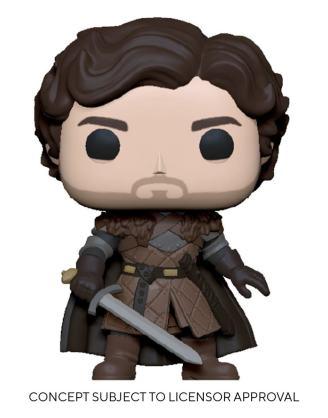Game of Thrones POP! TV Vinyl Figure Robb Stark w/Sword 9 cm_fk56796