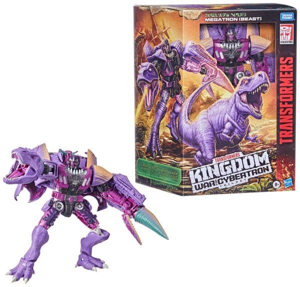 x_hasf0698 Transformers Generations War for Cybertron: Kingdom Leader Class Akciófigura - Megatron (Beast) 19 cm