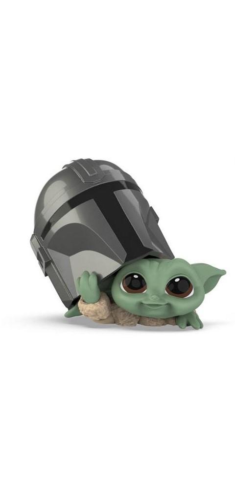 Star Wars Mandalorian Bounty Collection Figura - The Child HStar Wars Mandalorian Bounty Collection Figura - The Child Helmet Peekingelmet Peeking
