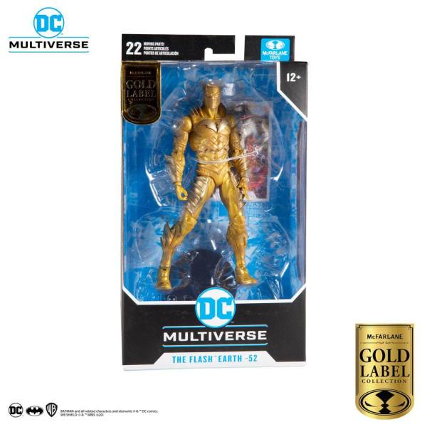 DC Multiverse Action Figure Red Death Gold (Earth 52) (Gold Label Series) 18 cm_mcf15151-0