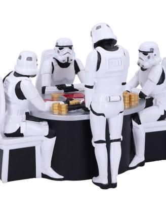 Star Wars Diorama - Stormtrooper Poker Face 18 cm