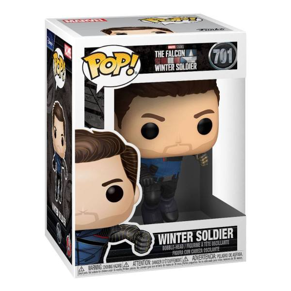 x_fk51625_a The Falcon and the Winter Soldier POP! Marvel Vinyl Figure Winter Soldier 9 cm