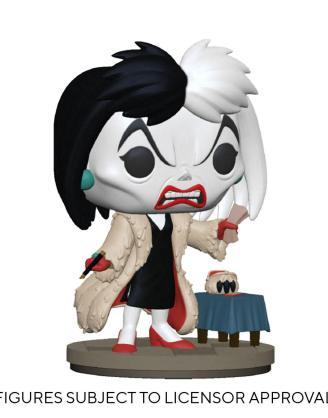 Disney: Villains POP! Disney Vinyl Figure Cruella de Vil 9 cm