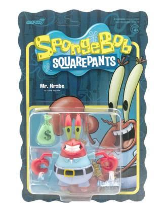 SpongeBob SquarePants ReAction Action Figure Mr. Krabs 10 cm