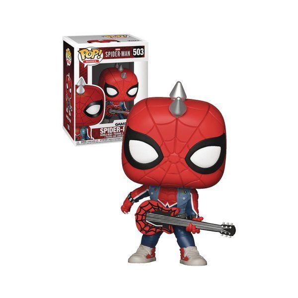 Funko POP! Marvel - Spider-Punk #503 Bobble-Head (Exclusive)