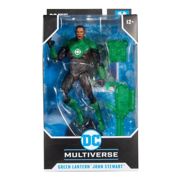DC Multiverse Akciófigura - Modern Comic Green Lantern (John Stewart) 18 cm