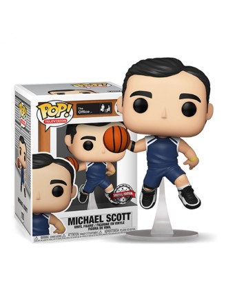 The Office US Funko POP! TV Vinyl Figura – Michael Scott Basketball (Exclusive)