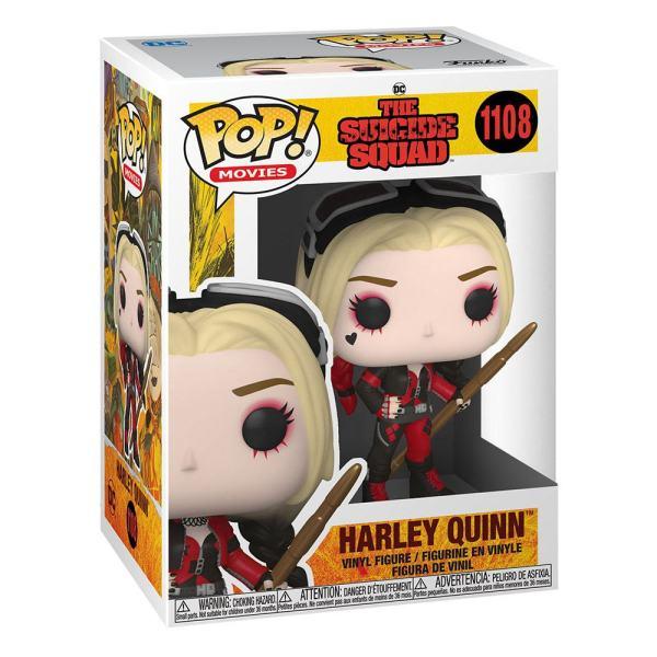 x_fk56015 The Suicide Squad Funko POP! Movies Vinyl Figura - Harley Quinn (Bodysuit) 9 cm