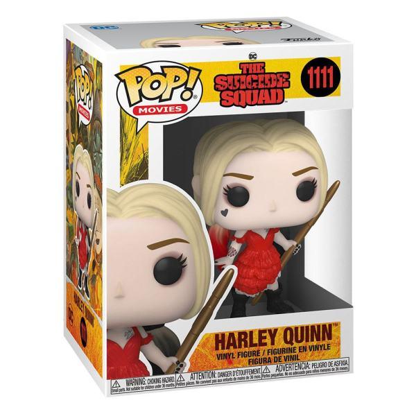 x_fk56016 The Suicide Squad Funko POP! Movies Vinyl Figura - Harley Quinn (Damaged Dress) 9 cm